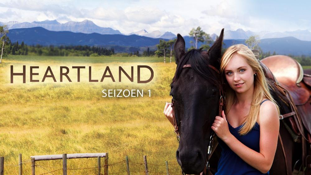 Amy met paard in Heartland seizoen 1